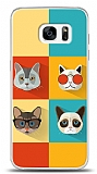 Samsung Galaxy S7 Edge Four Cats Kılıf