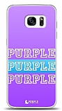 Samsung Galaxy S7 Edge Purple Design Kılıf