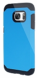 Dafoni Samsung Galaxy S7 Slim Power Ultra Koruma Mavi K�l�f
