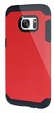 Dafoni Samsung Galaxy S7 Slim Power Ultra Koruma Kırmızı Kılıf