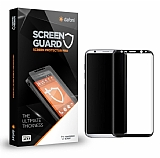 Dafoni Samsung Galaxy S8 Plus Curve Tempered Glass Premium Siyah Full Cam Ekran Koruyucu