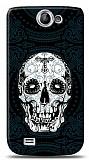 Dafoni Samsung Galaxy W i8150 Black Skull K�l�f