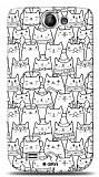 Dafoni Samsung Galaxy W i8150 Cats K�l�f
