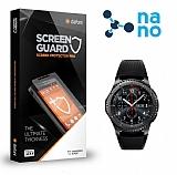 Dafoni Samsung Gear S3 Nano Glass Premium Cam Ekran Koruyucu