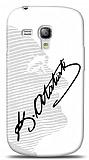 Dafoni Samsung i8190 Galaxy S3 mini Atat�rk Sil�et �mza K�l�f