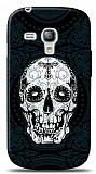 Dafoni Samsung i8190 Galaxy S3 mini Black Skull K�l�f