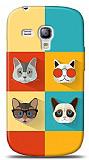 Dafoni Samsung i8190 Galaxy S3 mini Four Cats K�l�f