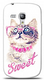Samsung i8190 Galaxy S3 mini Sweet Cat Kılıf