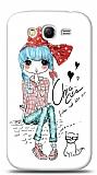 Dafoni Samsung i9082 Galaxy Grand / i9060 Grand Neo Cute Chic K�l�f