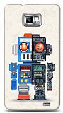 Dafoni Samsung i9100 Galaxy S2 Robot K�l�f