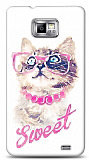 Samsung i9100 Galaxy S2 Sweet Cat Kılıf