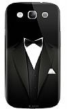 Dafoni Samsung i9300 Galaxy S3 Bow Tie Rubber K�l�f