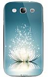 Dafoni Samsung i9300 Galaxy S3 Water Lily Rubber K�l�f