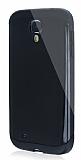 Dafoni Samsung i9500 Galaxy S4 Slim Power Ultra Koruma Siyah Kılıf
