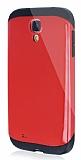 Dafoni Samsung i9500 Galaxy S4 Slim Power Ultra Koruma K�rm�z� K�l�f