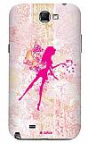 Dafoni Samsung N7100 Galaxy Note 2 Fairy Girl Rubber K�l�f