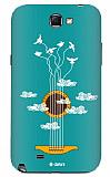 Dafoni Samsung N7100 Galaxy Note 2 Guitar Rubber K�l�f