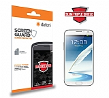 Dafoni Samsung N7100 Galaxy Note 2 Slim Triple Shield Ekran Koruyucu