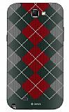 Dafoni Samsung N7100 Galaxy Note 2 Sweater Winter Siyah Rubber K�l�f
