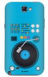 Dafoni Samsung N7100 Galaxy Note 2 Urban DJ Rubber K�l�f