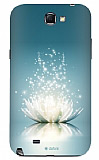 Dafoni Samsung N7100 Galaxy Note 2 Water Lily Rubber K�l�f