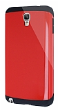 Dafoni Samsung N7500 Galaxy Note 3 Neo Slim Power Ultra Koruma Kırmızı Kılıf