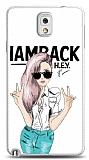 Dafoni Samsung N9000 Galaxy Note 3 Iamback Kılıf