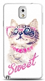 Dafoni Samsung N9000 Galaxy Note 3 Sweet Cat K�l�f