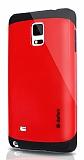 Dafoni Samsung N9100 Galaxy Note 4 Slim Power Kırmızı Kılıf