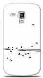 Dafoni Samsung S7562 / S7560 / S7580 Flying Birds Kılıf