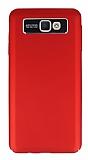 Dafoni Shade Galaxy J7 Prime Kamera Korumalı Kırmızı Rubber Kılıf