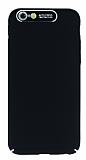 Dafoni Shade iPhone 7 / 8 Kamera Korumalı Siyah Rubber Kılıf