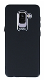Dafoni Shade Samsung Galaxy A8 2018 Kamera Korumalı Siyah Rubber Kılıf