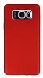 Dafoni Shade Samsung Galaxy Note 5 Kamera Korumalı Kırmızı Rubber Kılıf