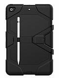 Dafoni Shock Armor iPad 10.2 2020 Kalemlikli Ultra Koruma Siyah Kılıf