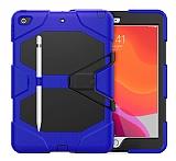 Dafoni Shock Armor iPad 10.2 2020 Kalemlikli Ultra Koruma Lacivert Kılıf