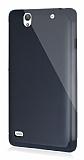 Dafoni Sony Xperia C4 Slim Power Ultra Koruma Siyah Kılıf