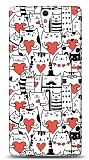Sony Xperia C5 Ultra Love Cats Kılıf