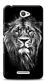 Sony Xperia E4 Black Lion Kılıf