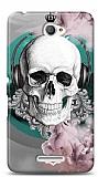 Sony Xperia E4 Lovely Skull Kılıf