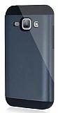 Dafoni Samsung Galaxy J1 Slim Power Ultra Koruma Siyah Kılıf