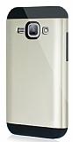 Dafoni Samsung Galaxy J1 Slim Power Ultra Koruma Gold Kılıf