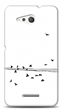 Sony Xperia E4g Flying Birds Kılıf