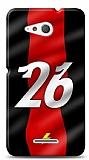 Sony Xperia E4g Kırmızı Şimşekler Kılıf