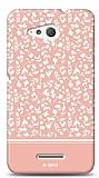 Sony Xperia E4g Pink Flower Kılıf