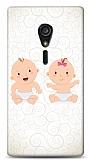 Sony Xperia ion Bebekler Kılıf