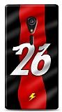 Sony Xperia ion Kırmızı Şimşekler Kılıf