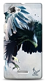 Sony Xperia L Black Eagle Kılıf
