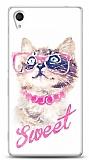 Dafoni Sony Xperia M4 Aqua Sweet Cat Kılıf