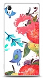 Dafoni Sony Xperia M4 Aqua Water Color Kiss K�l�f